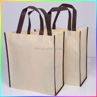 Polypropylene pet non-woven fabric used make tote bag for shopping