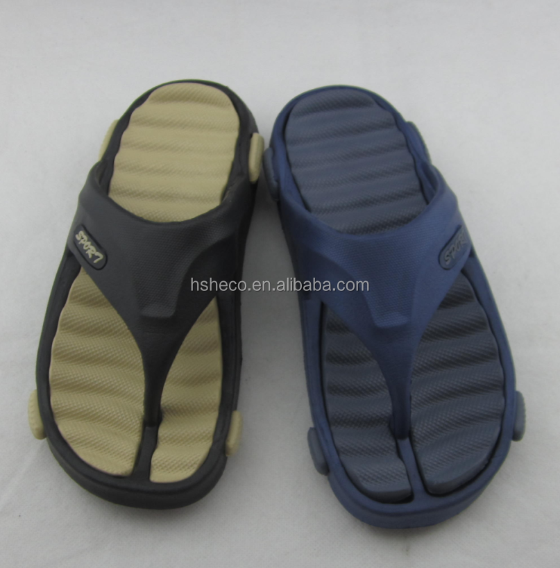 Men's soft comfortable colorful cheap EVA flip flops chappals