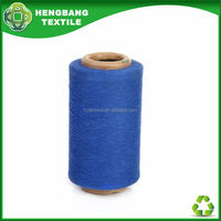 HB953 yarn recycled open end cotton blended china mop free samples yarn from china wholesale