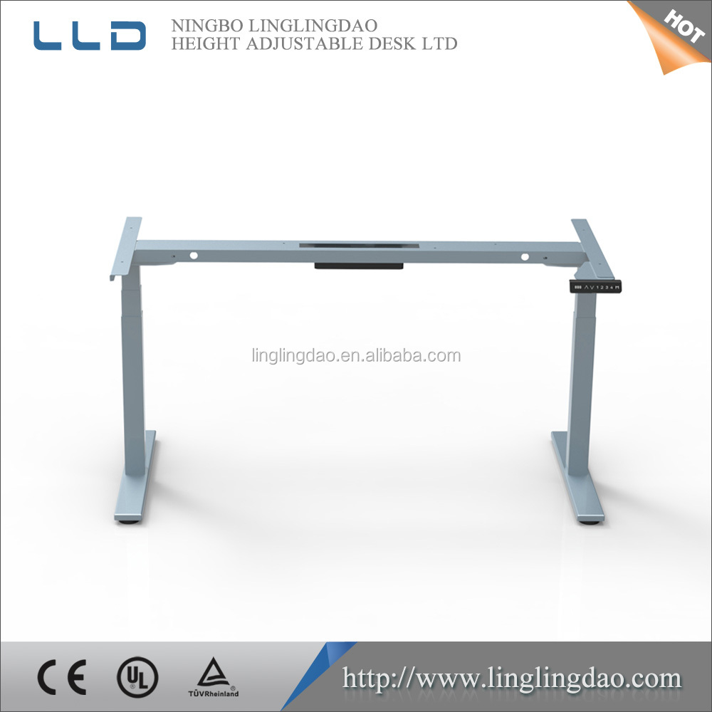 High quality Electric height adjustable desk New desgin of adjustable working table