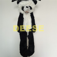 Factory price 90cm Panda bear skin plush toys coat kids doll for gifts