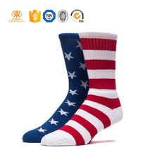 Wholesale stylish sport compression cotton flexit fitted socks