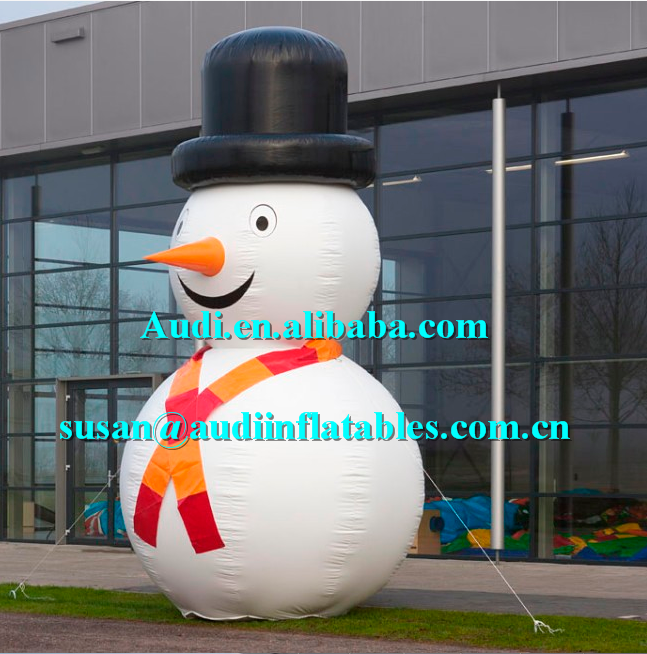 hot-seller inflatable yard snowman christmas decorations christmas supplier ,inflatable christmas,airblown inflatable snowman