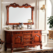 Chinese customized cheap double bowl 60 inch bathroom vanity double sink