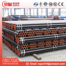 API 5L ASTM A53 ASTM A106 seamless and ERW carbon steel pipe
