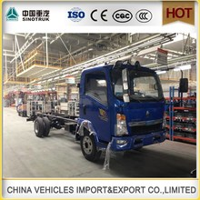 China made Diesel Fuel HOWO 4x2 10t light cargo truck for sale/jinbei light truck 3 tons