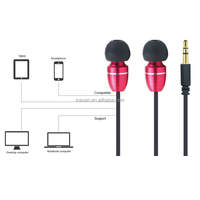 China custom metal earbuds earphones