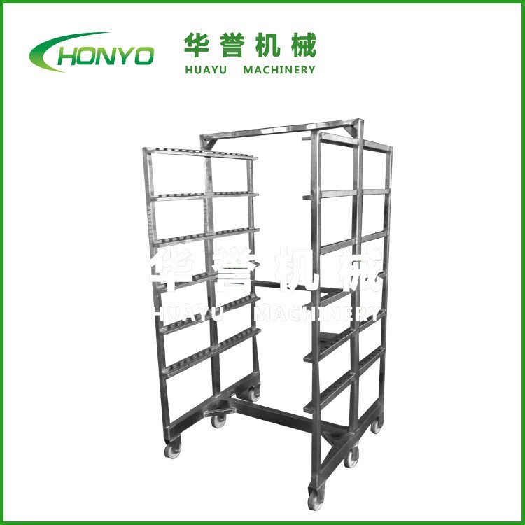 stainless steel 304 food tray trolley food grade for export standard