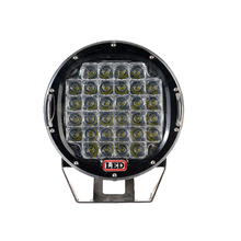 96W 9inch CR.EE Round LED Work Light Spot 12v Driving Fog Lamp For Offroad UTE 4WD