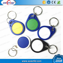 Waterproof RFID Keyfob NFC Ntag213 Ntag215 Chip for Access Control