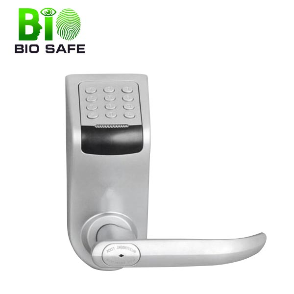 Made in China Bio Metric Security with Emergency Key Digital Door Lock (HF-LC9)