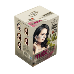 Semi-Permanent Type and ISO9001:2008 Certification dark lovely hair dye colors