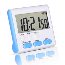 Digital Magnetic Alarm Kitchen Cooking Timer Clock Mini LCD colorful timer
