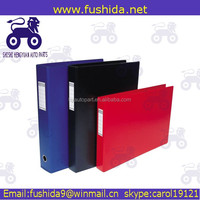 Assorted color plastic expandable pp file folders 13 pocket
