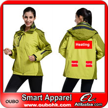 Lightweight Photographer Jacket with battery heating system high-tech electric heating clothing warm OUBOHK