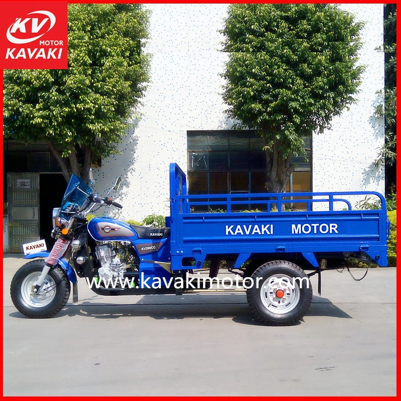 Guangzhou Panyu Motorcycle Parts Factory Produce EEC China Tricycle 250cc Moto Tricycle