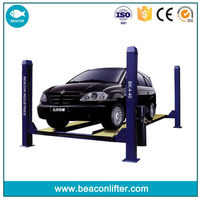 2015 Crazy Selling space save 4 post car parking lift