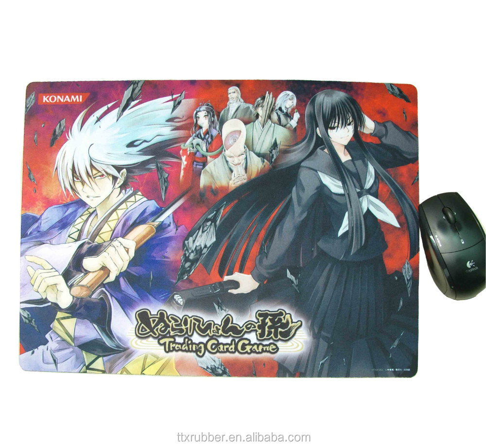 Hot selling ECO-Friendly rubber gaming mouse pads