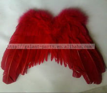 Factory Wholesale Fashion Children Kids Natural Feather Wing Also Can Used As Home Decoration
