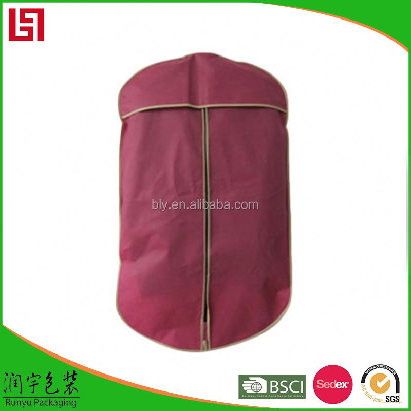wholesale custom garment bag for dress