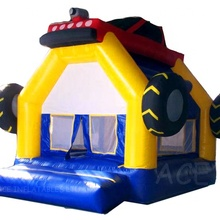 Outdoor Hot Sale Vinyl Material Car theme bounce house <strong>inflatable</strong> For kids