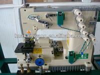 new type high speed automatical industrial Nylon Zipper sewing Machine/China factory machine