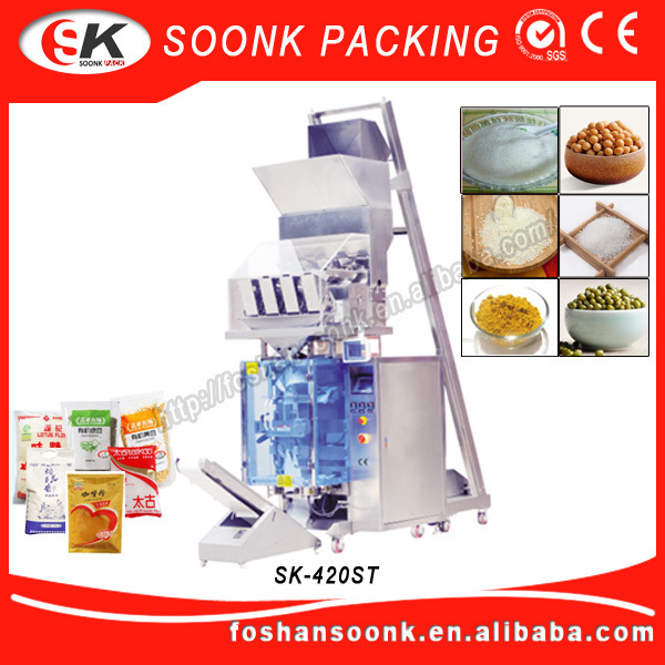 Big Volume Chocolate Peanut Modified Atmosphere Packaging Machine