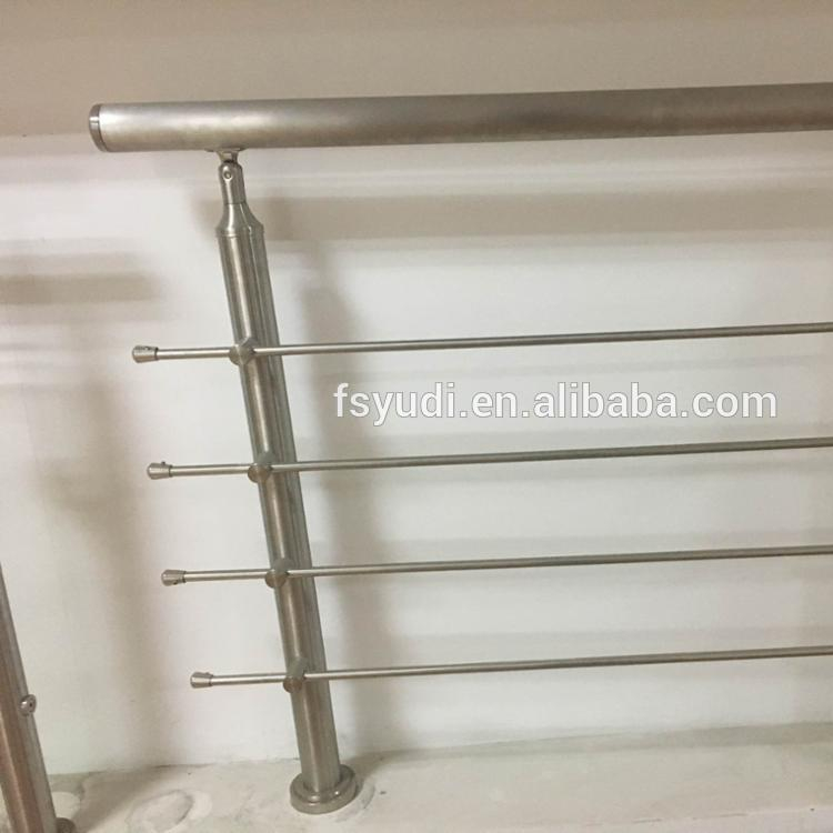modern design stainless steel stair railing post for sales
