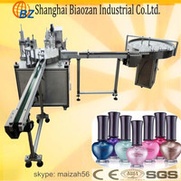 Nail Polish Filler With Capping Line