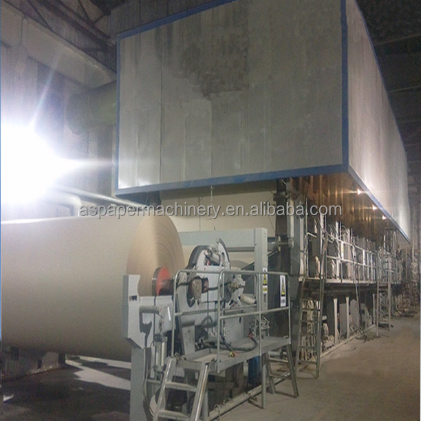China paper recycling Corrugated Cardboard Production Line,carton box manufacturing making machine prices