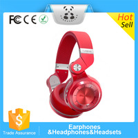 Popular T2 Wireless Bluetooth 4.1 Stereo Headphone Noise Canceling Music Headset with Mic Super Bass for Computer