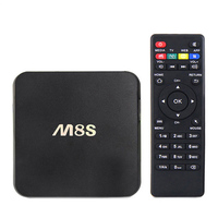 M8S Android TV Box 2G/8G kodi Android 4.4 Amlogic S812 Chip 4K cable tv set top box
