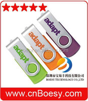 Popular OEM twister USB stick, hot promotional gift usb drive!