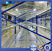 Bright zinc plated steel wire shelving/pallet rack accessories