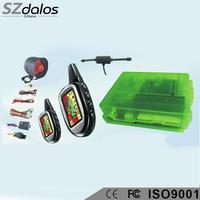 top smart safeguard automobile car alarm system with valet mode