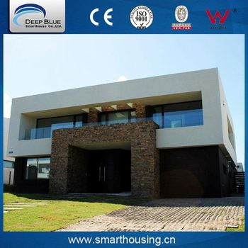 ISO certificated luxury prefabricated houses