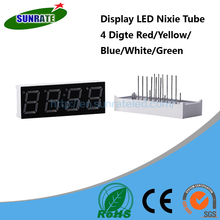 7 Years Verified Supplier 4 Digit Display LED Nixie Tube 7 Segment Common Cathode / Anode