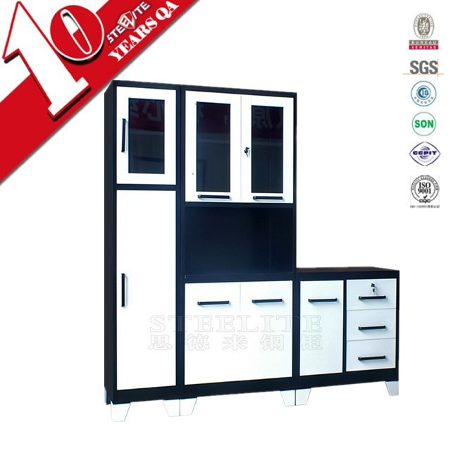 High Manufacturer Ratings Metal Cold Rolled Steel Material Kitchen Cabinet With Bv Certification