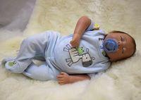 Fashion real silicone sleeping baby doll