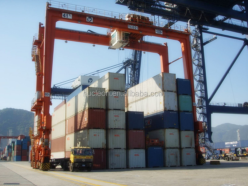 Container Gantry Cranes Used In Port Lift 20ft Container 40ft Container
