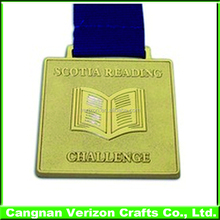 Professional Custom 2D/3D metal medal have various shape and color with lanyard