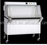Laminar air flow portable cleanroom booth for medical