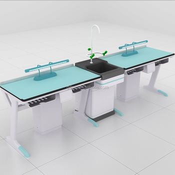 Alkali &Acid-proof Resin Top Lab Table, Biology Work Bench of Lab Table