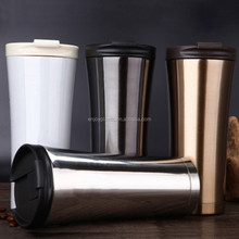 Double Wall Insulated Vacuum Cup Stainless Steel Coffee Mugs