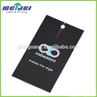 High quality machine grade hang tags wholesale for garment
