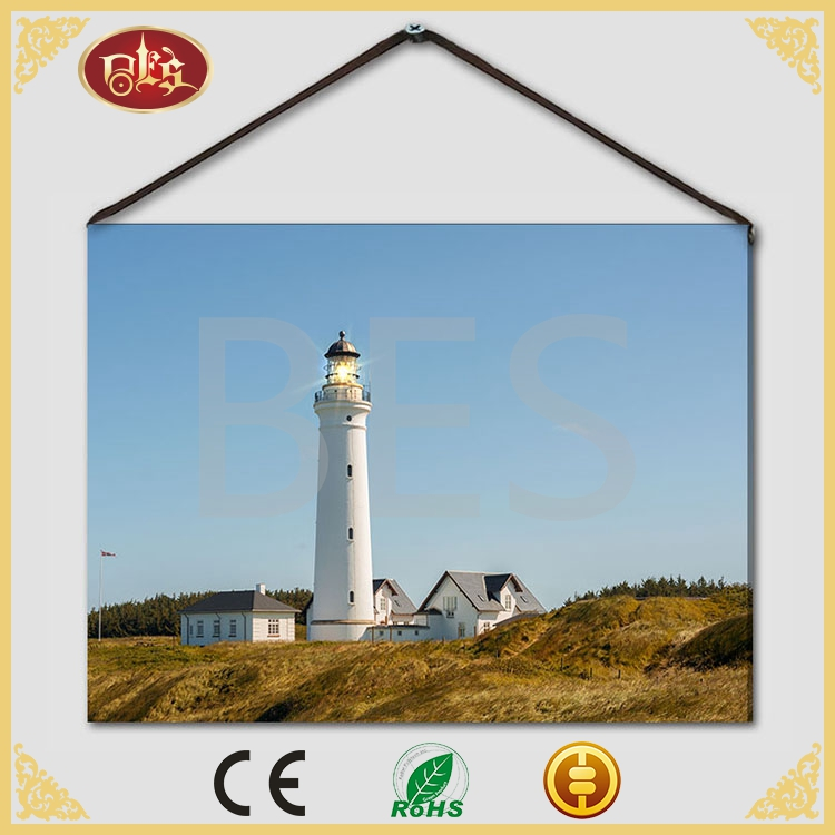 Gift Optic Lighthouse Sea Gallery Wrap Canvas