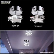 Star Shape LED Ceiling Light Modern Crystal Ceiling Lamp for Corridor Hallway MD2469
