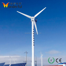 High Power Efficiency Horizontal AC Electronically Controlled 50KW Wind Turbine for sale