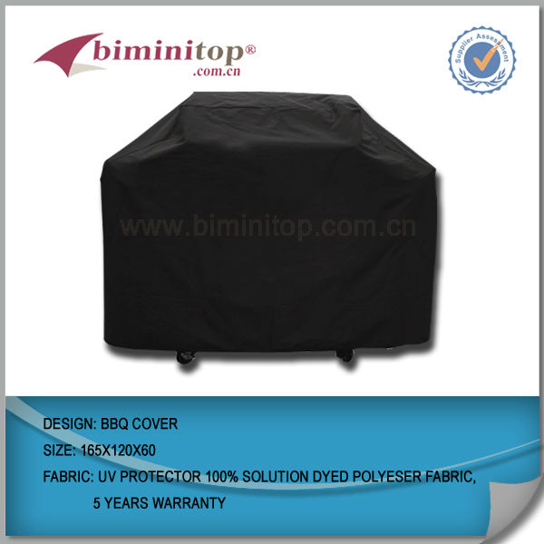 Family time Colorful BBQ grill cover