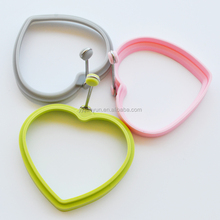 cooking tool heart shape silicone fried egg mold / silicone egg ring